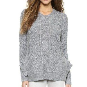 Stylestalker Kyanite Sweater Top Tiered Sides Grey